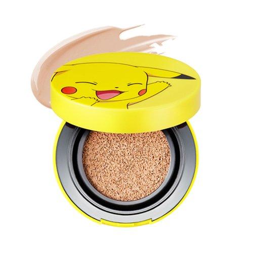 Tony Moly-Pikachu Mini Cover Cushion SPF50+ Pa + + +-Make Up Base con arganöl con Antiarrugas + Whitening Efecto + Protección UV-maquillaje-El Secreto Schöner piel-Cuidado Facial-Piel Cuidado-Beauty