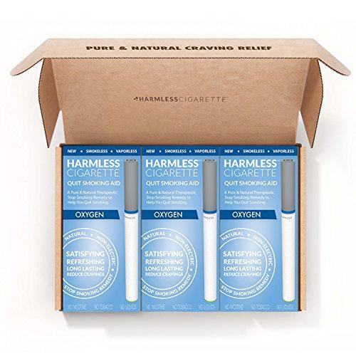 Harmlos Zigarette 4Woche Quit Kit/STOP Rauchen Hilfe/inklusive gratis Quit Smoking Unterstützung Guide.