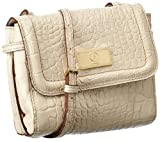 Bogner Leather Bolso bandolera, Elements Ive, blanco - Elfenbein (sand 033), 0022137