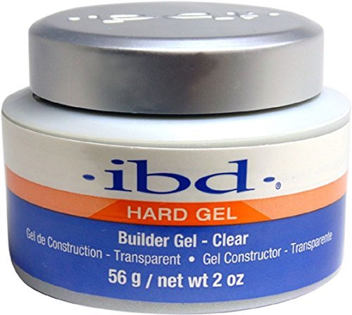 IBD Nail Treatments Clear Builder Gel, 1er Pack (1 x 56 ml) -