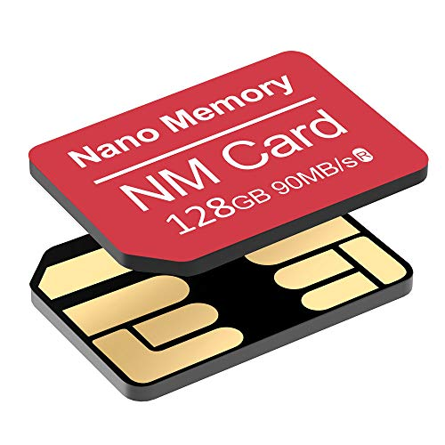 YAOMAISI NM Card 128G 90MB/S - Tarjeta Memoria Nano-Tarjeta