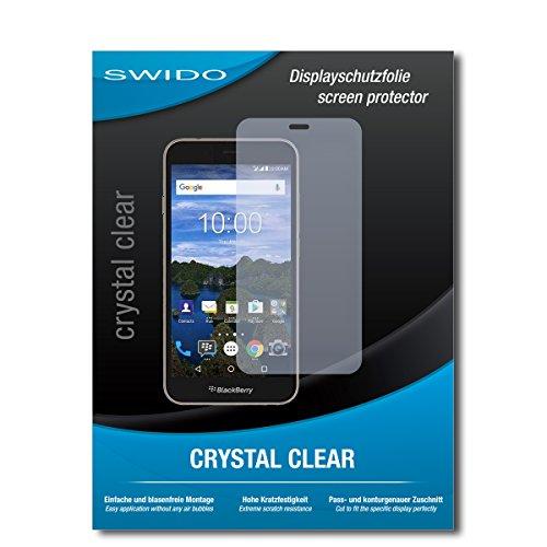 SWIDO Bildschirmschutz für BlackBerry Aurora [4 Stück] Kristall-Klar, Hoher Härtegrad, Schutz vor Öl, Staub & Kratzer/Schutzfolie, Bildschirmschutzfolie, Panzerglas Folie