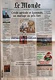 Telecharger Livres MONDE LE No 18007 du 17 12 2002 CLUB MED HENRI GISCARD D ESTAING NOUVEAU PRESIDENT DU GROUPE LE MONDE ECONOMIE L EUROPE PEUT ELLE ECHAPPER AUX SCANDALES FINANCIERS EMPLOI TERRORISME LE PERMIS DE TUER DE LA CIA PECHE LES QUINZE NEGOCIENT UNE REFORME DECISIVE JUSTICE LE MALAISE DES MAGISTRATS DU POLE FINANCIER ANCIENS COMBATTANTS LE SENEGAL MECONTENT DU NOUVEAU SYSTEME D INDEMNISATION VIOLENCE ROUTIERE UN POLICIER VICTIME D UN CHAUFFARD AEROPO (PDF,EPUB,MOBI) gratuits en Francaise