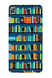 ZAPCASE PRINTED BACK COVER FOR LENOVO A7000 - Multicolor
