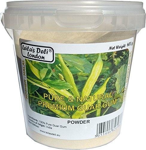 100% polvere pura premio gomma di guar (1 x 400g)