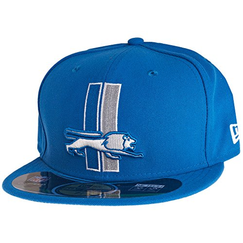 New Era Detroit Lions 59FIFTY Fitted Sideline NFL Cap Classic (6 - Onfield New Packers Era