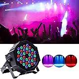 UKing 36 LED Par Scheinwerfer RGB Lichter Beleuchtung mit Fernbedienung DMX Steuerung LED Strahler für DJ Disko Partylicht Club …