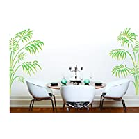 Bamboo Palm stencil–riutilizzabile stencil per pittura murale–migliore qualità Victorian Parlor Palm Ideas–utilizzo su pareti, tessuti, vetro, legno, terracotta, e molto altro ancora... s