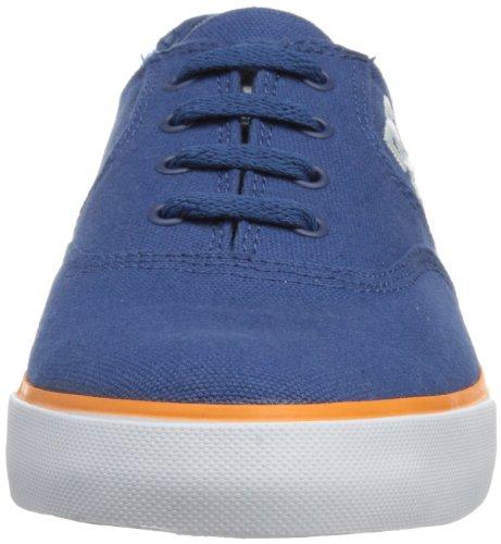 DC Shoes Flash Tx M, Chaussures de skate homme Gris (Navy/Orange)