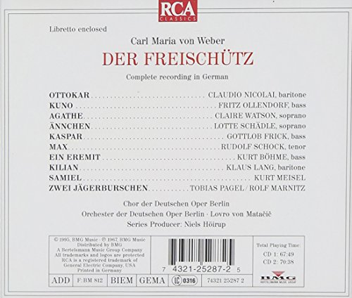 Der Freischütz [Import anglais]