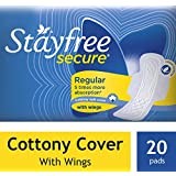 Stayfree Secure Cottony Wings (20 Count)