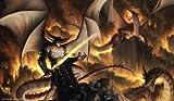 Artists of Magic Premium Playmats: DRAGONLORD SINN AUTOGRAPHED BY THE ARTIST TYLER WALPOLE
