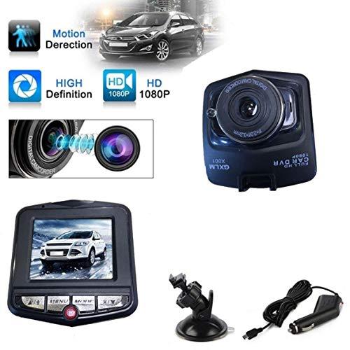 Noradtjcca Full HD 1080p 2,4 Zoll hochauflösendes LCD Auto Auto DVR Dash Cam Kamera G-Sensor IR Nachtsicht 170 Grad Weitwinkelobjektiv Ir-kamera-power-usb-dvr