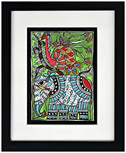 Indian Traditional Madhubani Art Painting - Hand Painted