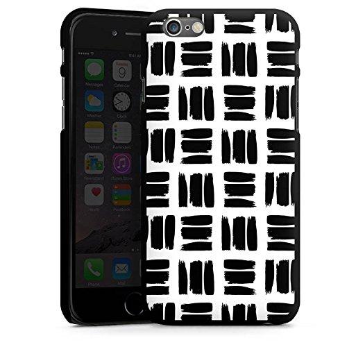 Apple iPhone 5s Housse Outdoor Étui militaire Coque Noir et blanc Motif Motif CasDur noir