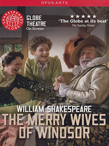 Shakespeare-The-Merry-Wives-Of-Windsor-Christopher-Benjamin-Serena-Evans-Sarah-Woodward-Globe-on-Screen-DVD-2010-NTSC