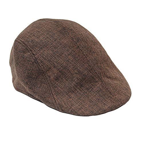 ALIKEEY Hombres Mujeres Sólido Invierno Gorra Sólido Protector De Oído  Boina Sombrero Slouchy Sombreros Para Mujer 90abe7e3352