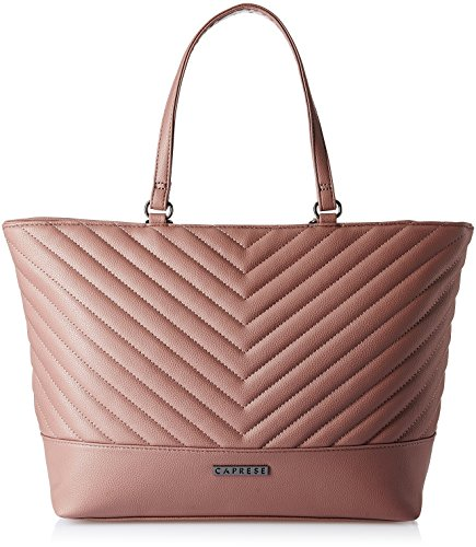 Caprese  Women Tote Bag (Muted Mauve)(TEANGLGMMV)