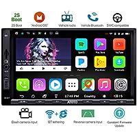 ATOTO A6 Doppel-Din Android Auto Navigation Stereo mit Dual Bluetooth - Standard A6Y2710SB 1G / 16G Auto Unterhaltung Multimedia Radio, WiFi/BT Tethering Internet, Unterstützung 256G SD & mehr