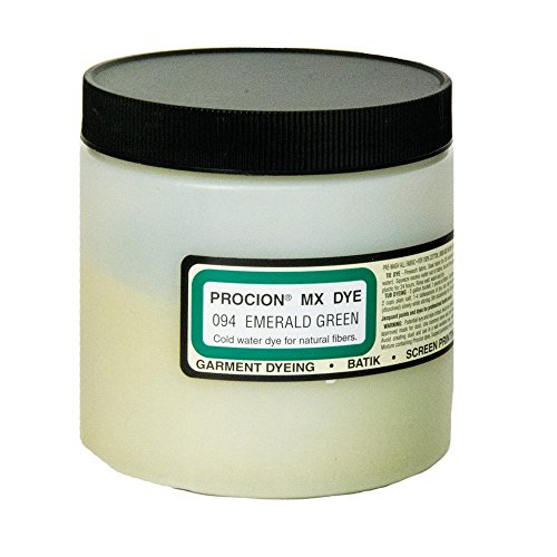 Procion Mx Dye Emerald Green 8Oz by Jacquard (Bulk-textilfarbe)