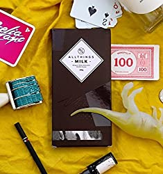 All Things 33.8% Cocoa Belgian Milk Chocolate Handmade Bar, 100g [Pack Of 2, Inspired By The Familiarity Of Classics]