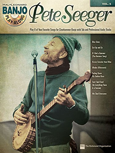Pete Seeger: Banjo Play-Along Volume 5 (Hal Leonard Banjo Play-Along)