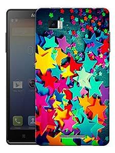 "Humor Gang Colorful Stars Printed Designer Mobile Back Cover For ""Lenovo Vibe Z K910"" (3D, Matte Finish, Premium Quality, Protective Snap On Slim Hard Phone Case, Multi Color)"
