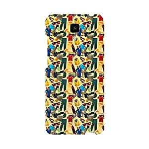 Skintice Designer Back Cover with direct 3D sublimation printing for Xiaomi Mi4i