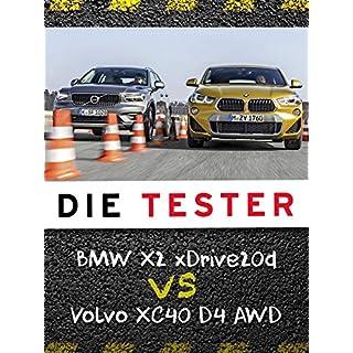 Die Tester: BMW X2 xDrive20d vs Volvo XC40 D4 AWD