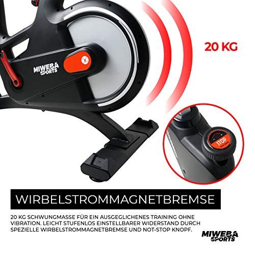 Ergometer Heimtrainer Fahrrad + App-Steuerung Bild 3*