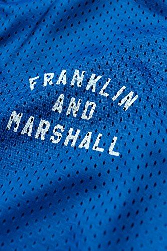 Franklin & Marshall - Sweatshirt FLMF106ANS17 für mann, gerippt handgelenke 2149 - OLYMPIC