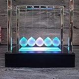 TianranRT 2cm leuchtend Boden Pendel Newton Cradle Balance Ball für Desktop Dekoration