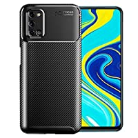 For Oppo A92 Case Protection Shock Absorption Phone Case Slim TPU Bumper Cover Soft Flexible Skin Light Weight Protective Case for oppoa92 case - Black