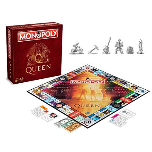 Monopoly Queen Edition für Fans (englische Ausgabe)
