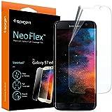 Protector de pantalla para Galaxy S7 Edge, Spigen® Neo Flex [EASY-INSTALL alas] Wet Type TPU Film, antiarañazos Ultra claro más duradero Protector pantalla Galaxy S7 Edge (556FL21258)