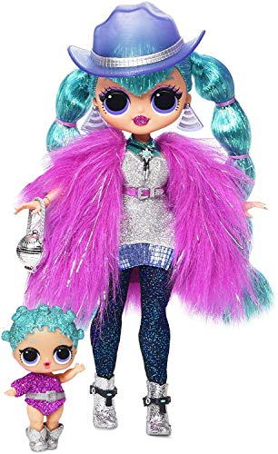 L.O.L. Surprise! O.M.G. Winter Disco, Cosmic Nova, Fashion Doll & Sister, 25 Sorprese