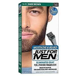 Just for Men Mustache and Beard M-45 (Dark Brown)