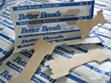 BETTER BREATH NASAL STRIPS 100 x LARGE ANTI SNORING AID PATCH TO STOP SNORING BETTER BREATHE