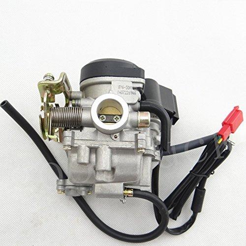 Huopu Carb Carburateur pour moteur 4temps GY649cc 50cc chinois Scooter cyclomoteur Alu Taotao KYMCO
