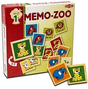 Tactic Games UK Mi Primer Memo Zoo