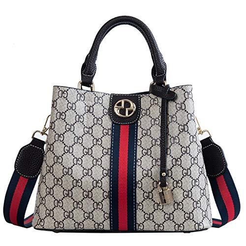 LFGCL Bags womenPrinted Handtaschenmode Umhängetasche, schwarz