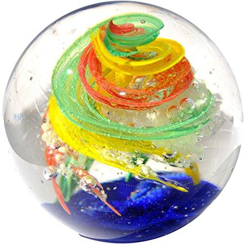 Kaltner Präsente Geschenkidee: Traumkugel Glaskugel Briefbeschwerer Kugel aus Glas