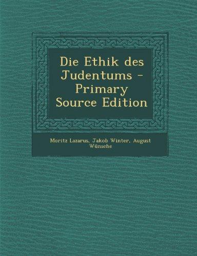 Die Ethik Des Judentums - Primary Source Edition