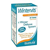 HealthAid Wintervits - Vitamin C, Zinc, Maitake - 30 Vegan Tablets from HealthAid