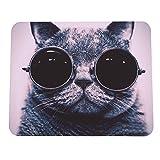 Cat Bild Anti-Rutsch-Laptop PC Mausunterlage-Matte Mousepad für Optische Laser-Maus