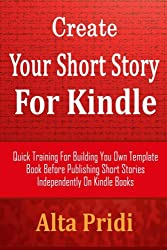 Create Your Short Story For Kindle Book Number 001