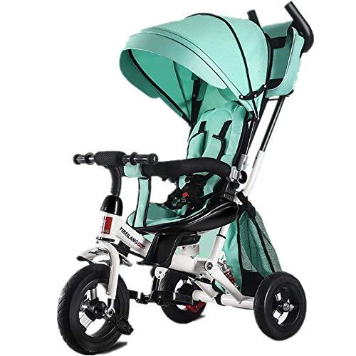 Balance Bike Triciclo per bambini Triciclo pieghevole per bambini Triciclo per bambini 7 in 1 con maniglione girevole e ribaltabile per bambini di età compresa tra 2 e 4 anni per Girls & Boys