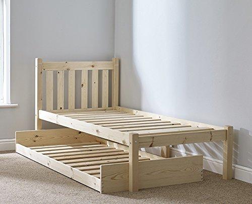 e3d43db45a60 Strictly Beds Zues Guest Bed Lit d'appoint en Bois – 0,9 m