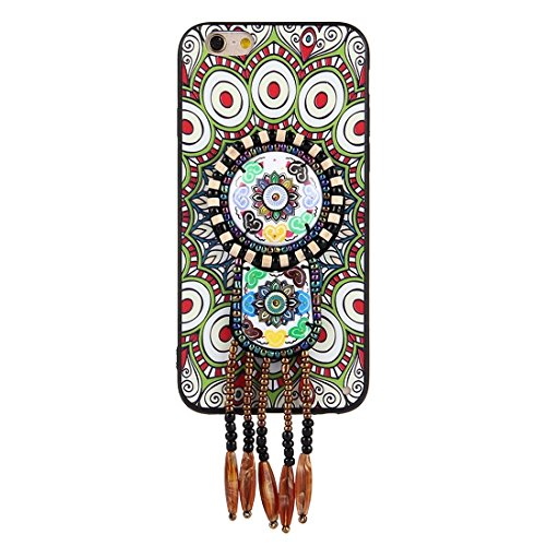 Wkae Retro ethnische Art-Abziehbilder schützender rückseitiger Abdeckungs-Fall für iPhone 6 u. 6s ( SKU : Ip6g0416f ) Ip6g0416e