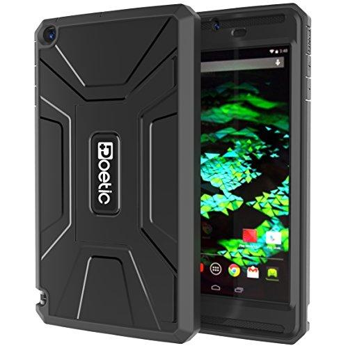"""Preisvergleich Produktbild Poetic poe-83398""""Hartschale Schwarz Schutzhülle für Tablet–Hülle für Tablets (Hartschale, NVIDIA, NVIDIA Shield Tablet, 20,3cm (8), Schwarz)"""